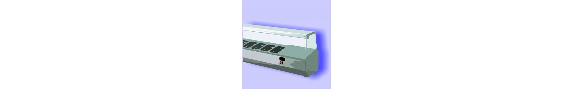 Expositor Refrigerado Sobremostrador